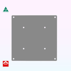 Image of a 225x225mm square adjustable mounting plate