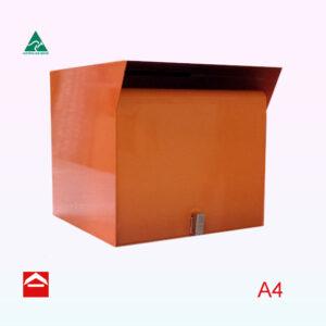 Front open small parcel box. 350w x 395d x 350h