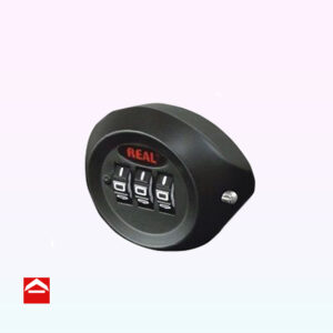 3 Dial resettable combination lock